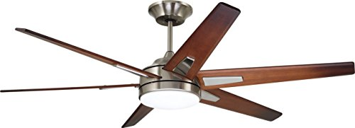 (Emerson CF915W60BS 60-inch Modern Rah Eco Ceiling Fan, 6-Blade Ceiling Fan with LED Lighting and 6-Speed Wall Control)