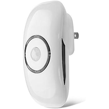 Flexzion Night Light Led Motion Sensor Outlet Plug In