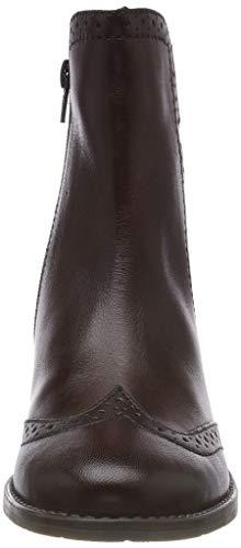 Women's 11 Mid Bugatti Boots 6400 4 brown Ankle 11562e tfOxR