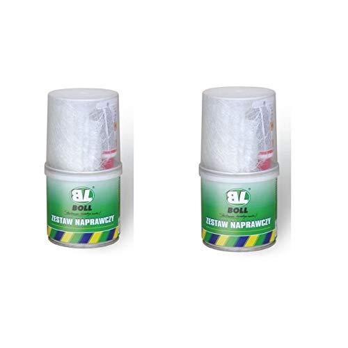 BOLL - 2 Kit ré paration resine polyester Lecoinducarrossier