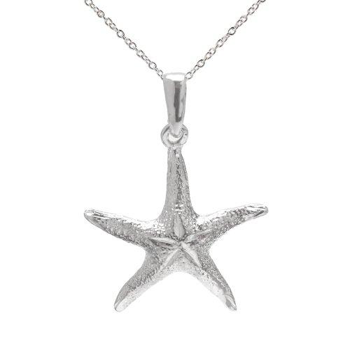Prices for Diamond Cut Starfish Pendant - 5