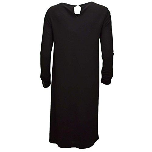 TOMMY HILFIGER Kleid 'JAHIA' schwarz, Größe XL