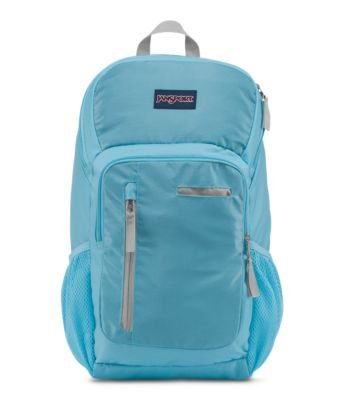 (JanSport Impulse Laptop Backpack - Blue Topaz Triangle Dobby)