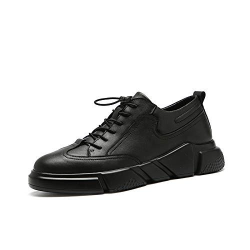 coreano informale Shoes All Lovdram selvaggio studenti sportiva aiutare Autunno Uomo piattaforma Low moda Black Mens per casual FclJTK1