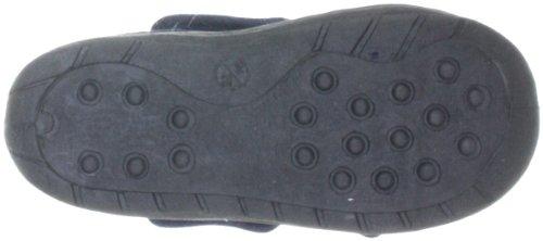 Playshoes Hausschuh Klettverschluß 204702, Unisex - Kinder Hausschuhe Blau (Marine11)