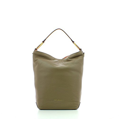 Coccinelle Liya shoulder bag calf leither taupe