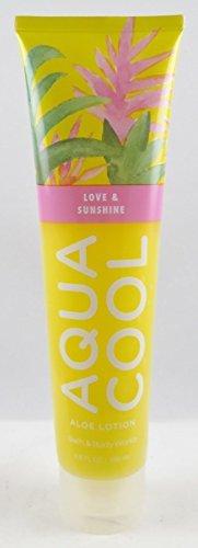 Cool Aloe (Bath & Body Works Aqua Cool Aloe Gel Lotion Love & Sunshine)