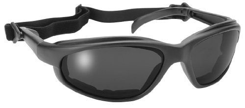 Pacific Coast Freedom Padded Sunglasses - One size fits most/Black w/ Smoke by Pacific Coast