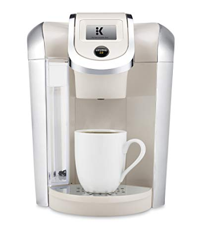 Keurig K400 Coffee Maker, One Size, Sandy Pearl (Certified Refurbished)