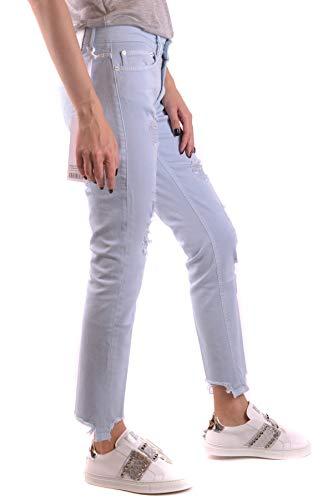 Claro Mujer Ezbc051103 Dondup Algodon Azul Jeans 5qW8C4x4n0
