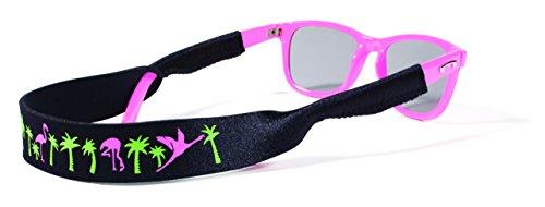 Croakies Original Croakies Eyewear Retainer, Flamingo - Holders Cable Sunglass