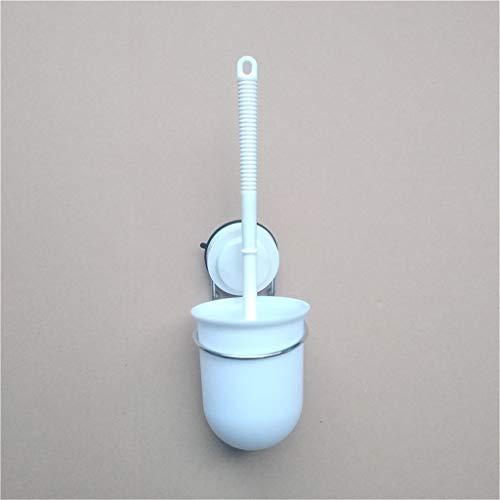 - MSOO Modern Stainless Steel Wall Mount Toilet Brush & Frosted Glass Brush Holder