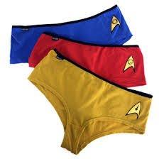 a07f82c4d4 star trek ladies pants panties briefs knickers set of 3 official see ...