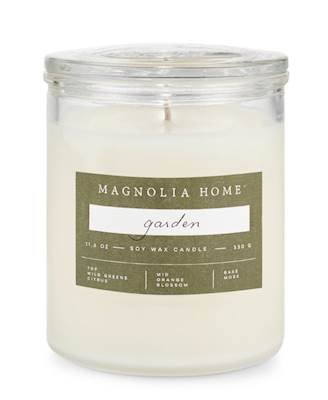 Magnolia Home Garden Lidded-Glass Candle Home Decor By Joanna Gaines from Magnolia Home