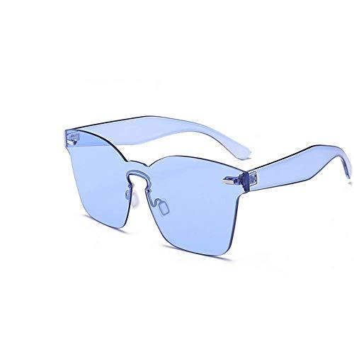 Rétro Lunettes Transparentes Brown De Super LBY Colorées Soleil Lunettes Femme Bleu Couleur de Soleil XdqIHqnx5w