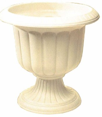 Novelty Mfg 38196 Planter, Classic Urn, Stone Resin, 19-In. - Quantity 6