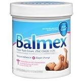 Balmex Diaper Rash Cream 16 Oz Case of 6 by Chattam