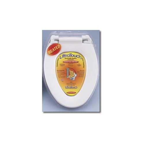 Outlet Ultratouch Heated Toilet Seat White Elongated