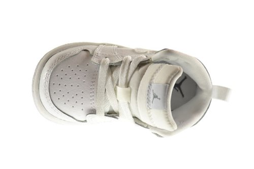 sports shoes 2735c 67adf Air Jordan 1 Mid BT Baby Toddler Shoes White/Cool Grey-White ...