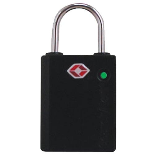 The Keyed SearchAlert TSA Luggage Lock, Black