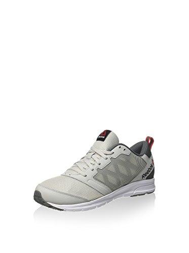 Reebok Rush 2.0, Zapatillas de Running para Hombre Gris (Skull Grey / Alloy / White / Riot Red)