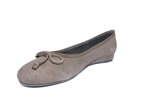 Stuart Weitzman Womens Quilt Fungi Brown Suede Low Wedge Heels Flat Shoes Size 9 N, ()