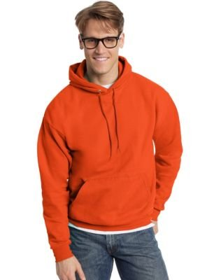 Hanes Men's Pullover EcoSmart Fleece Hooded