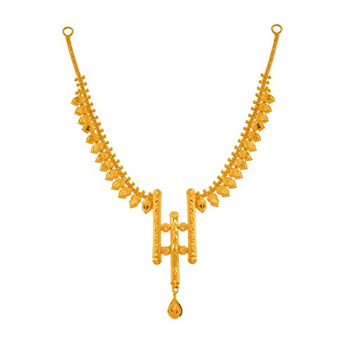P.C. Chandra Jewellers 22k  916  Yellow Gold Necklace for Women
