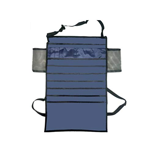 KISSFRIDAY Black Strip Multifunctional Desk-Side Hanging Bag Oxford Fabric Organizer