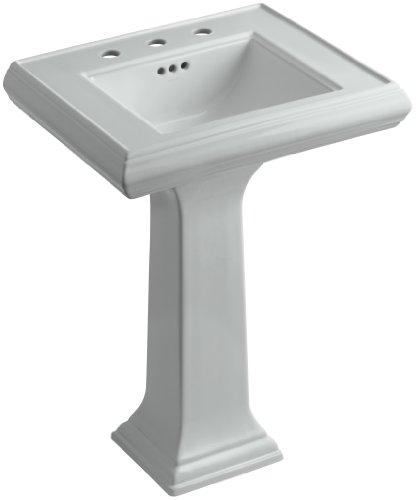 emoirs Pedestal Bathroom Sink with 8