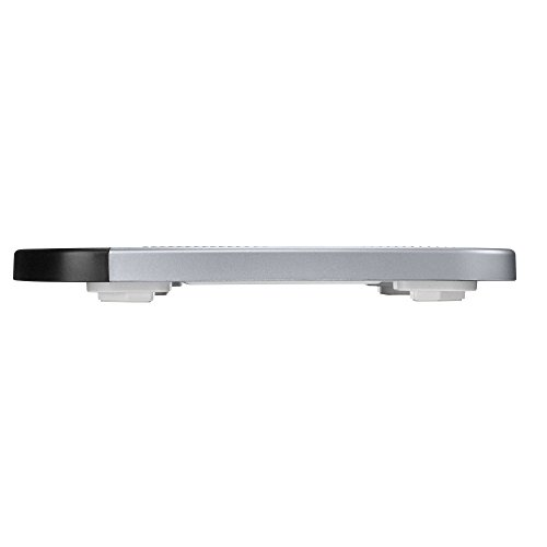 Conair Thinner TH280 Digital Precision LED Portable Bathroom Scale, Black/Silver by Conair (Image #1)