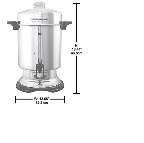 Hamilton Beach D50065 Commercial 60-Cup Stainless-Steel Coffee Urn, Silver by Hamilton Beach (Image #5)