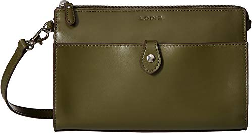 Lodis Accessories Women's Audrey RFID Vicky Convertible Crossbody Clutch Avocado/Berry One -