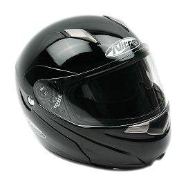 Nitro Modular Helmet Black Large