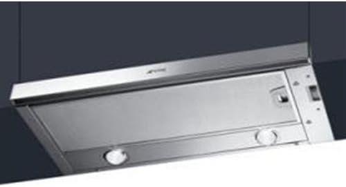 Smeg KSET66 Encastrada Acero inoxidable 620m³/h D: Amazon.es: Electrónica