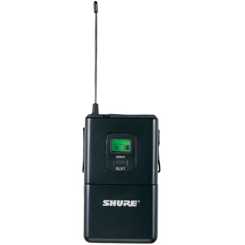 Shure SLX1 Wireless Bodypack Transmitter, J3 by Shure