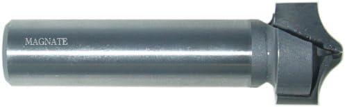 1-1//2 Cutting Diameter; 2 Shank Length Magnate 7554 Barley Twist Carbide Tipped Router Bit