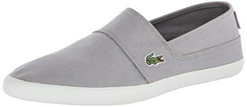 Lacoste Men's Marice LCR Fashion Sneaker, Gray, 11.5 M US
