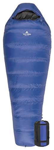 Teton Sports Altos +20F Ultralight Down Mummy; 20 Degree Sleeping Bag Perfect for Backpacking, Hiking, and (20f Mummy)