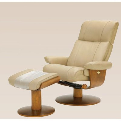 Mac Motion Oslo Swivel Recliner and Ottoman Color: -