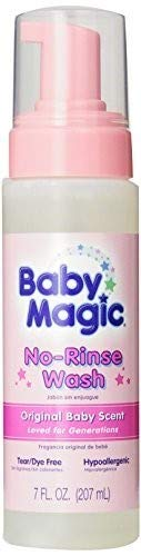 Baby Magic No-Rinse Wash (Pack of 6) by Baby Magic