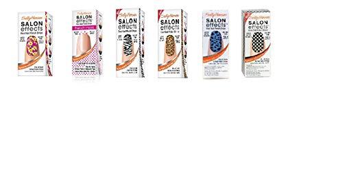 Sally Hansen Salon Effect Real Nail Polish Strips, French Mixed (Lot of 10) (Essie Nail Polish Strips)