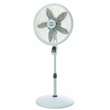 Lasko 1850 Remote Pedestal Fan, 18-Inch