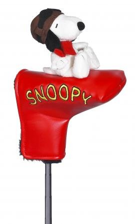 Licensed Snoopy The Flying Ace Golf Putter Cover NEW, Outdoor Stuffs