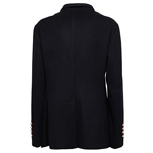 Jacket Bottega Wool 8766y Blu Martinese Giacca cashmere Blue Woman Donna 776ZBR