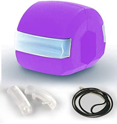 Jaw Exerciser, 2021Jawline Exerciser Face and Neck Toning Ball Equipment, Define Your Jawline, Slim and Tone Your Face, Look Younger and Healthier, jawline Exerciser for Women and Men (Purple) 7