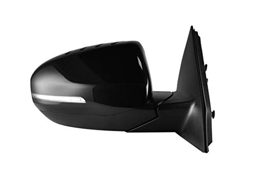 (Passenger Side Unpainted Heated Power Operated With Signal Side View Mirror for 2014-2015 Kia Optima - Parts Link #: KI1321175)