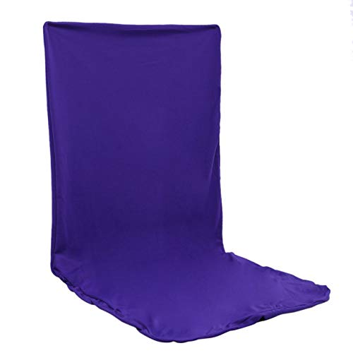 (Viva's Store 14 Color Universal Solid Elastic Cloth Chair Covers China for Weddings Decoration Party Banquet Dining Chair Covers - Purple)