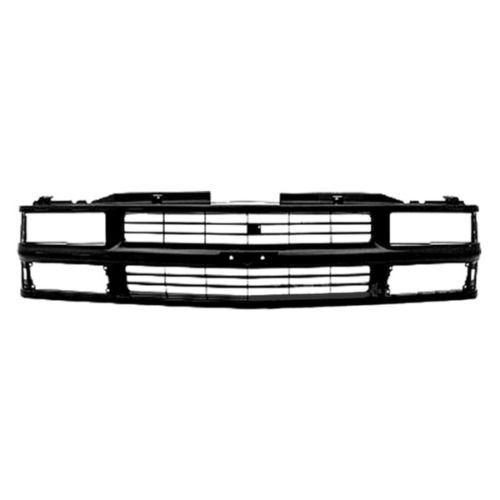 New Grille Grill Front End Black for Chevy C/K Pickup Truck Suburban Tahoe Blazer ()