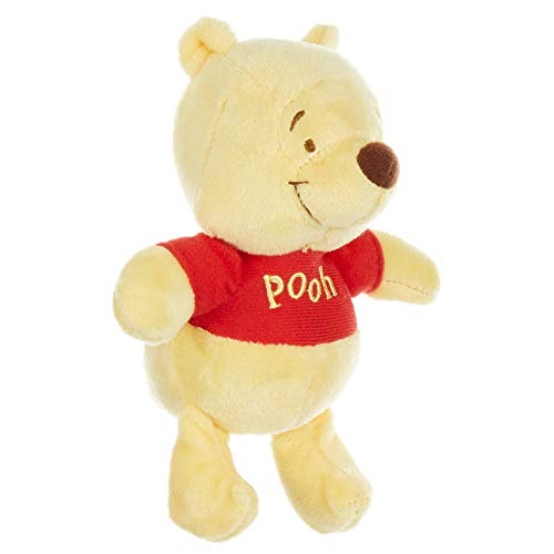 Disney Baby Winnie The Pooh Stuffed Animal Plush Toy Mini Jingler, 5 inches from KIDS PREFERRED